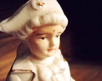 Nineteenth Century Bisque Military Figurine, Time Raveler
