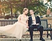 Julianna Inspired Tulle Wedding Dress