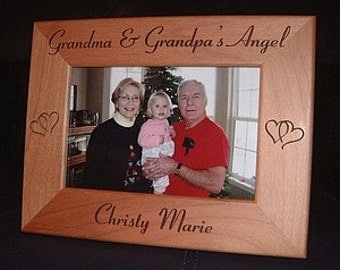 engraved grandparents frame personalized grandparents gifts engraved grandmother frame engraved grandfather frame grandma grandpa frames