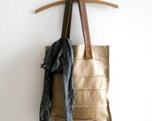 leather tote - Mocha