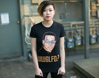 what would geordi laforge do star trek graphic tee