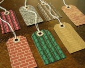 dolly's house labelles gift tag luggage label