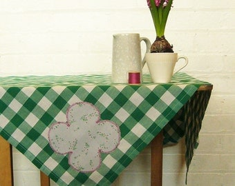 dorothy green picnic gingham tablecloth
