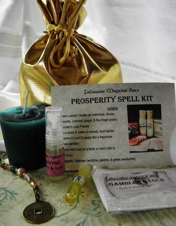 Prosperity Spell Kit - Www imagez co