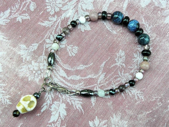 Gemstone Bracelet - Past Life Bracelet for the Beyond the Veil Explorer