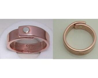 Set of 2 One Rivet Rings