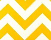 Zig Zag Yellow and White Runner 12x72