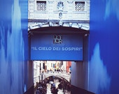 Venice Photography 8x12 (20x30cm) Bridge of Sighs - Europe Italy city on water gondola holiday blue home decor