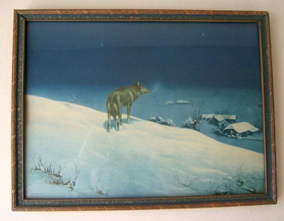 Items Similar To Framed 1925 Borin Chicago Original Lone