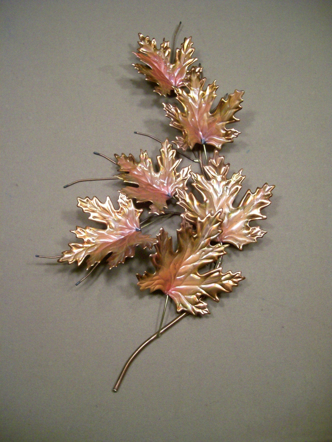 Items similar to Metal Maple Leaf Wall Art Sculpture 23 ...