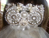 REGAL IMPERIAL VINTAGE BRIDAL HAIRCOMB (SEE FIRST LISTING - (2)