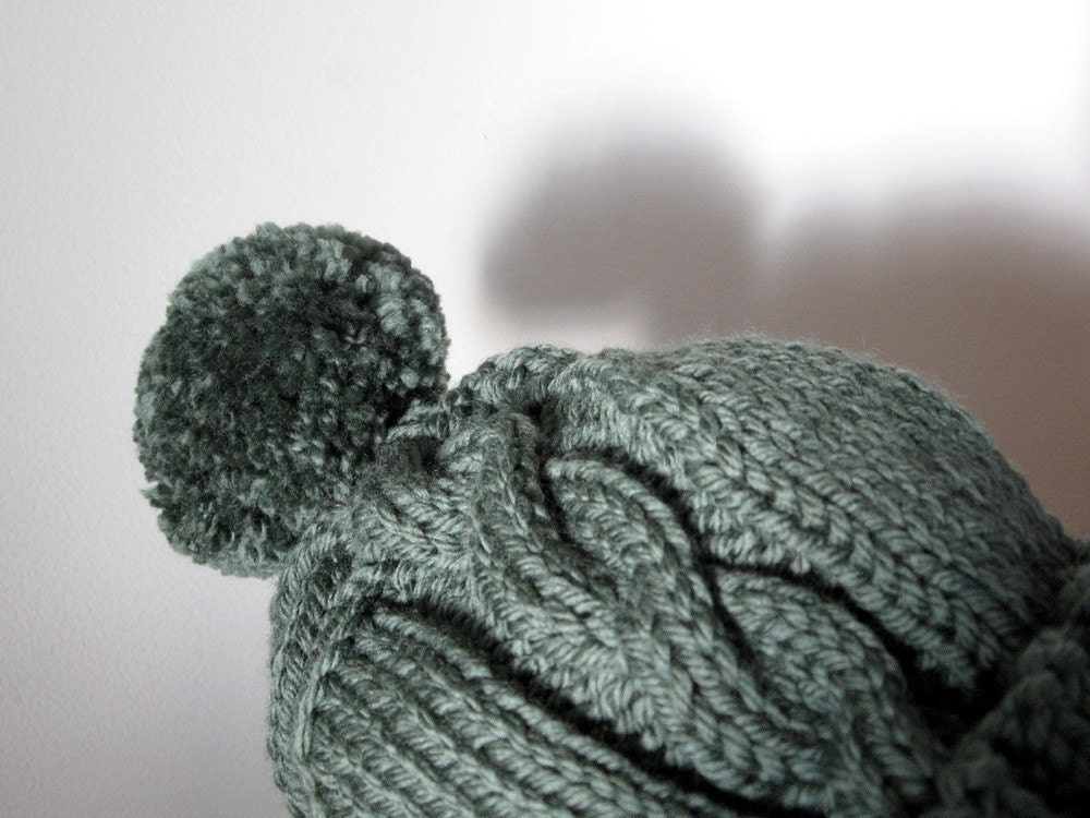 Hat Knitting PATTERN PDF Knitting Pattern Bulky Yarn by ...