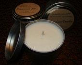SUMMER ORANGE FLOWER - 8 oz Premium Soy Candle Tin