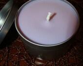 LAVENDER - 8 oz Premium Soy Candle Tin