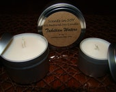 3 for 18.00 - YOU CHOOSE FRAGRANCE - 6 oz Premium Soy Candle Tins