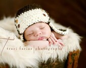 Little Flyer Aviator Hat - Newborn Photography Prop