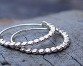 Simple and Beautiful Hoops, Sterling Silver Hoops, Silver Hoop Earings, Sterling Silver Hoop Earring, Small Silver Hoop Earring