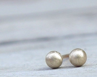 Tiny Gold Stud Earring, Gold Stud Earrings, Tiny Gold Studs, Gold Stud Earring,  Gold Earring Studs, Gold Stud Earring
