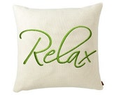 RELAX - Life Sentiments Embroidery Designs - FiveStarFonts