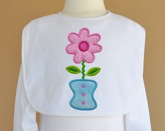 Ric Rac Guitar Flower Machine Applique Design Embroidery