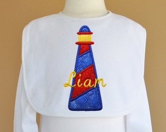 Lighthouse Applique Design Machine Embroidery
