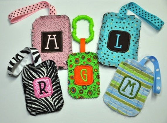 Raggy Tags for Bags - In The Hoop Machine Embroidery NO SEW