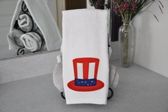 Uncle Sam Hat Applique