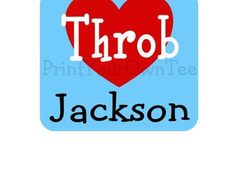 Heart Throb Custom Design