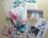 Fabulous Marie-Antoinette Inspiration Kit for Collage, Mixed Media, Altered Art, ATCs Etc.