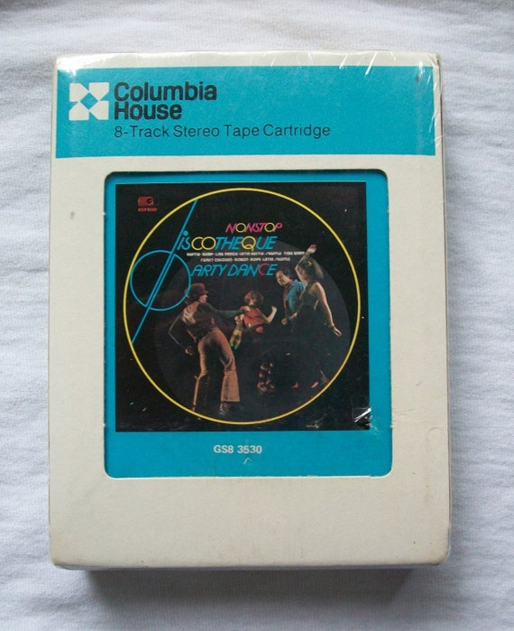 Inside Of A 8 Track Tape: 8-Track Disco Dance Party Tape New In Package By