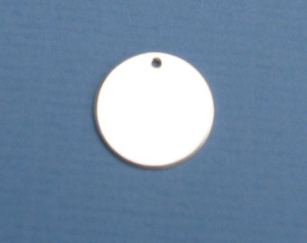 1 2 Inch Copper Disc 22 Gauge Blank Round Circle Disc Charm