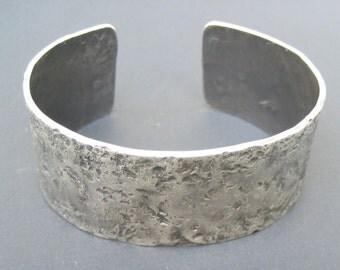 Personalized Sterling Silver Cuff Bracelet