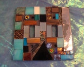 MOSAIC LIGHT SWITCH Plate - Double