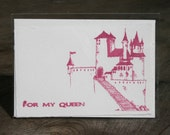 A Castle For My Queen Card