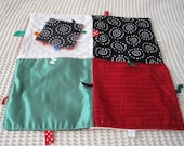 Made and Ready to Go Bright Patchwork Blanket and Busy Square Sale