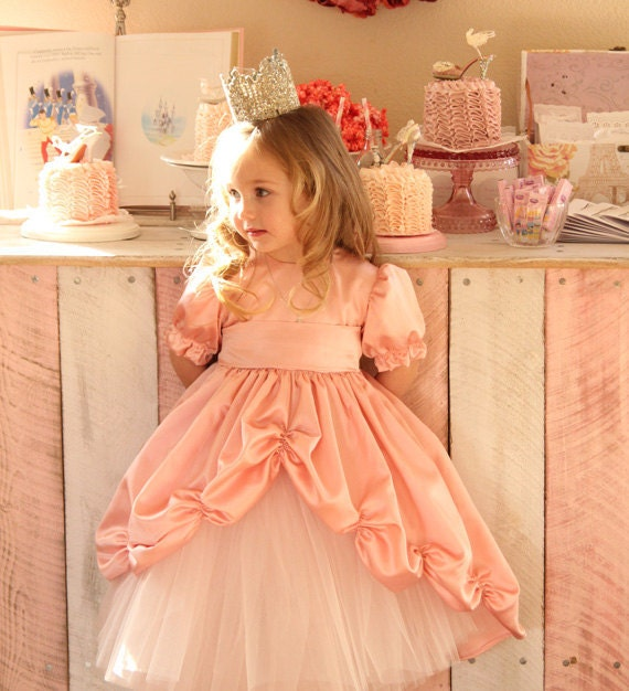 Dancing on a Cloud Princess Gown in Pink