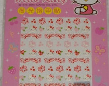 Sanrio Hello Kitty Nail Art Stickers