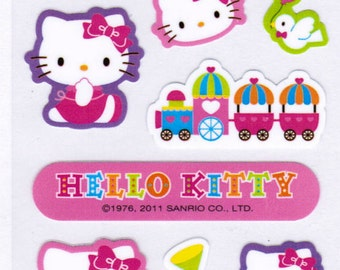 Sanrio Hello Kitty Sticker Sheet - A