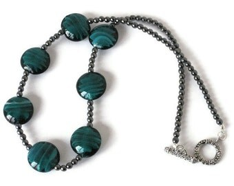 Teal Beaded Necklace, Gifts for Women Wife Mom Daughter Sister Grandma Under 30, Mothers Day Christmas Birthday Gifts