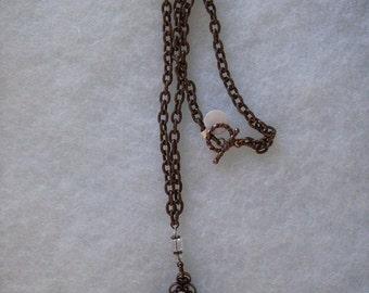 Gothic Necklace - Copper