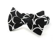 Mens or Boys Cotton Pre-tied Bow Ties