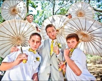 Mens Yellow Neckties Yellow  Neckties Wedding Neckties Mens Neckties Groomsmen Neckties