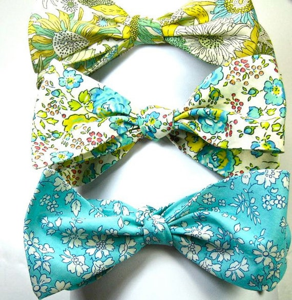 Mens Bow Ties, Liberty of London Fabric, Bow Ties, Custom Bow Ties, Cotton Bow Ties, Floral Bow Ties,  Freestyle Bow Ties