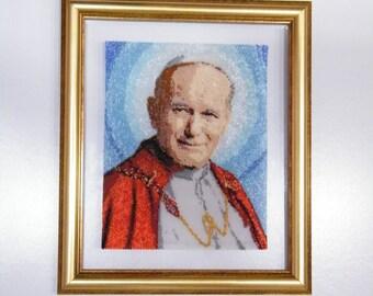 Pattern Blessed Pope John Paul II