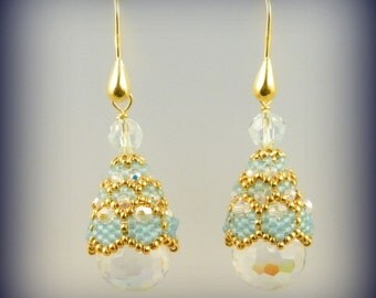 Globo earrings , perfect for tassels also