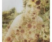 Beautiful Polaroid 4x6 Greeting Card - Helena