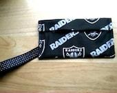 Raiders Wristlet
