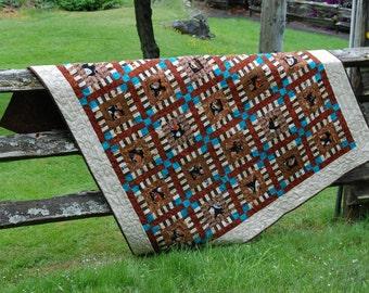 Pattern - Coffee Shop Around the Block  quilt