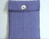Purple Felted Wool iPad Case Eco Friendly