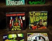 Hammer Films Ceramic Tile Coasters (Set of 6)